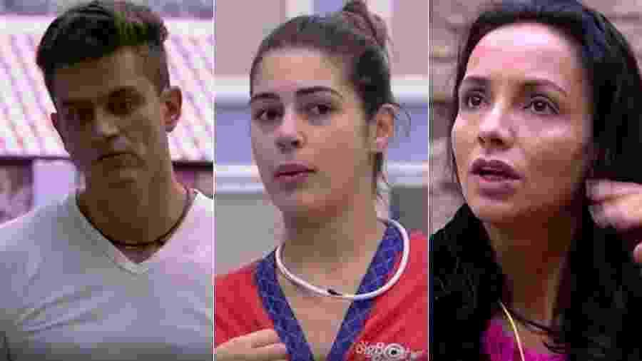 Marcia Fernandes diz que Marcos, Vivian e Marinalva têm chances de ganhar o reality - Reprodução/TV Globo