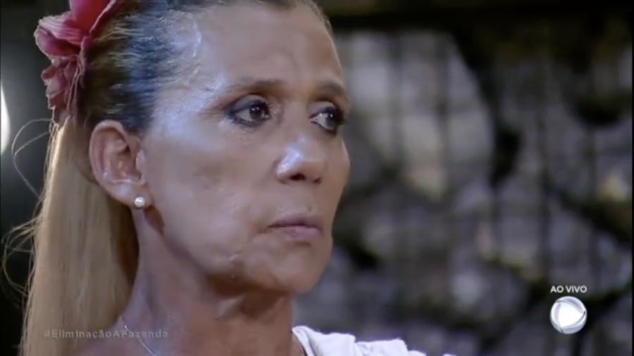 """Rita Cadillac quer que Matheus Lisboa vença """"A Fazenda: Nova Chance"""" - Reprodução/R7"""