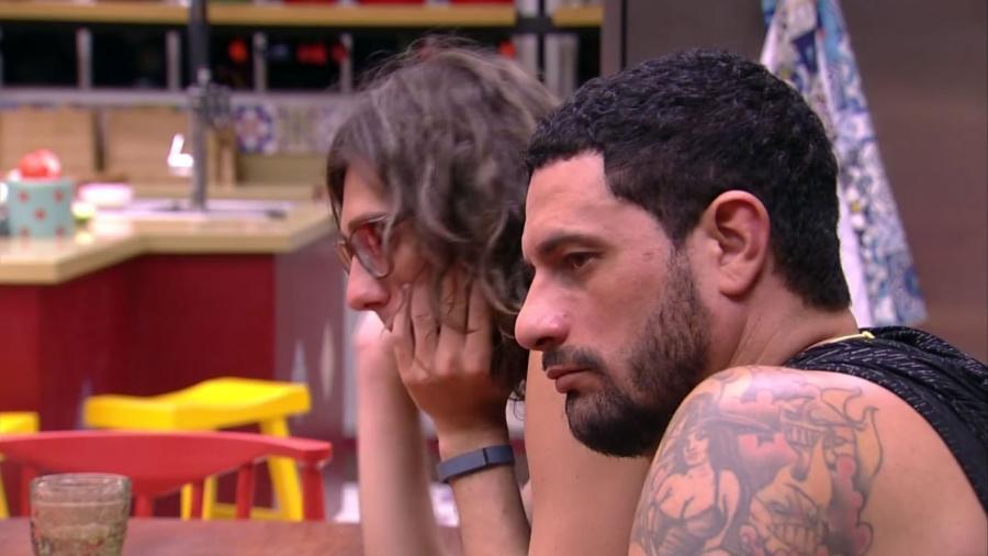 Daniel ainda não sabe quem vai colocar no paredão da semana - Reprodução/TV Globo