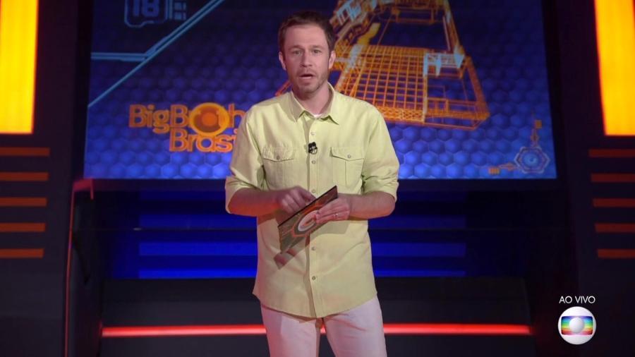 Tiago Leifert anuncia Jogo da Discórdia - Reprodução/TV Globo