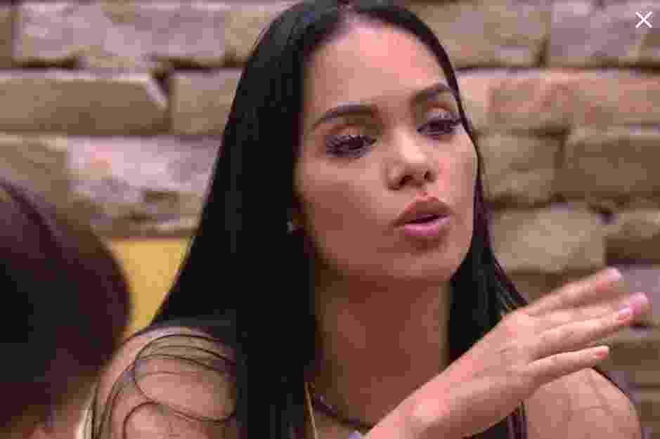 Mayara muda voto e diz que vai indicar Marcos para Paredão - Reprodução/TVGlobo