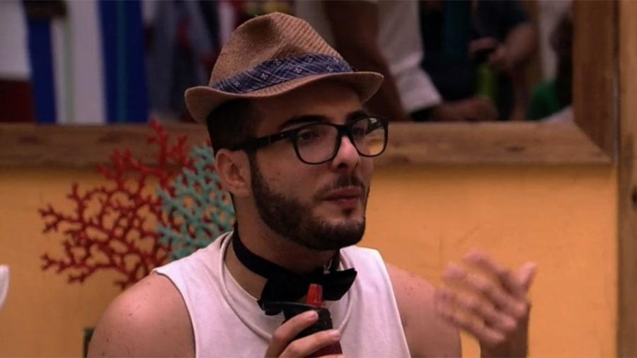 Mahmoud fala sobre sexo com brothers - Reprodução/GloboPlay