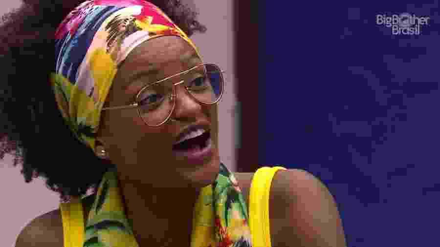 Nayara fala sobre em que vai votar no paredão da semana  - Reprodução/GloboPlay