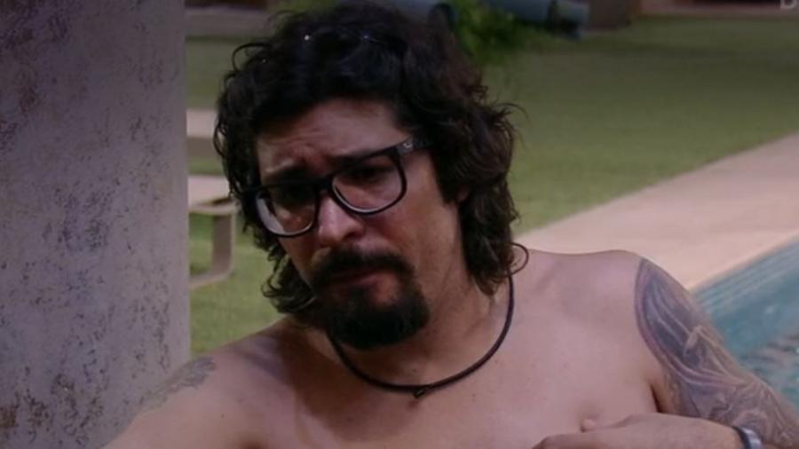 Ilmar fala sobre suicídio do pai - Reproduçãp/TV Globo