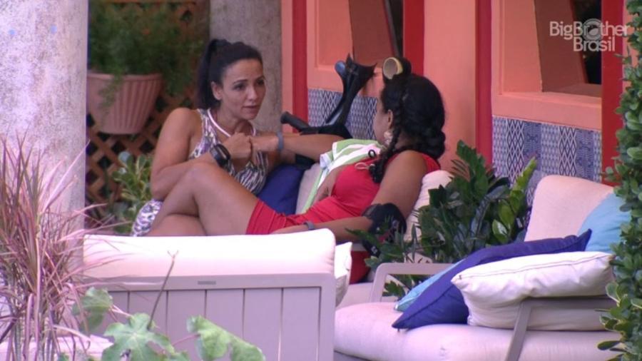 Marinalva e Elis - Reprodução/TV Globo