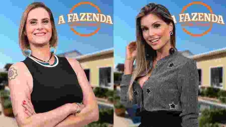 """Aritana e Flávia formam a sétima roça de """"A Fazenda 9"""" - Montagem/Antonio Chahestian/Record TV"""