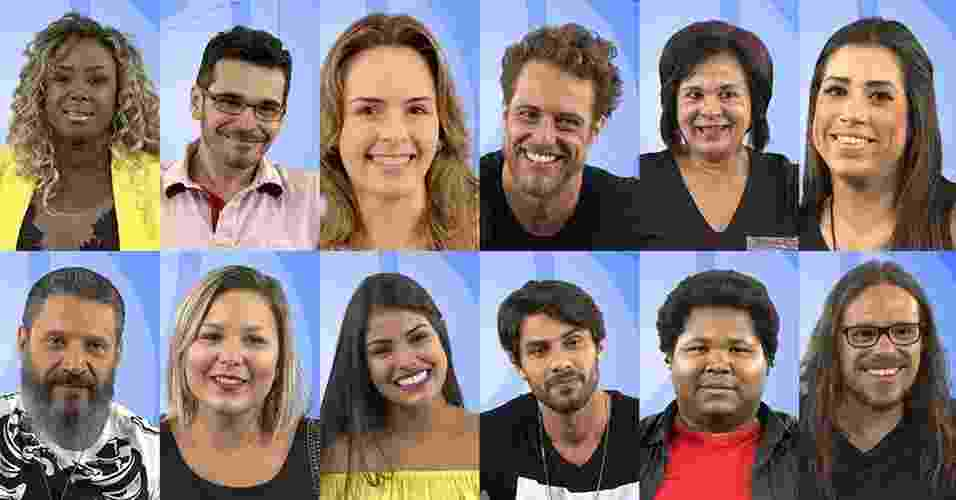"""Conheça os participantes do """"BBB16"""" - Montagem UOL"""