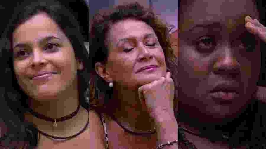 Emilly, Ieda e Roberta: emparedadas da semana - Reprodução/TVGlobo