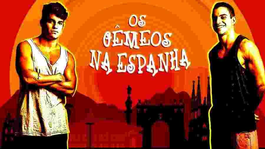 """Antônio e Manoel em participação no """"Gran Hermano VIP"""" - Reprodução/TV Globo"""