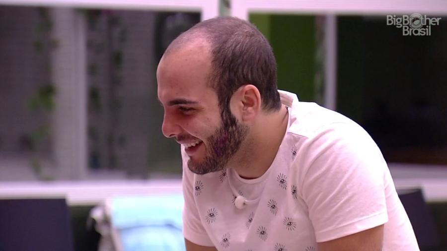 Mahmoud fala de Breno para Ana Paula  - Reprodução/GloboPlay
