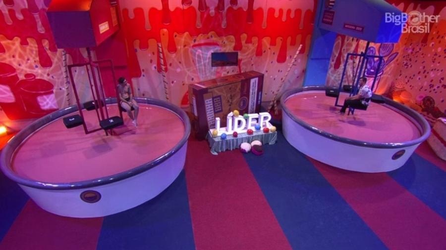 Prova do líder completa 12 horas - Reprodução/Tv Globo