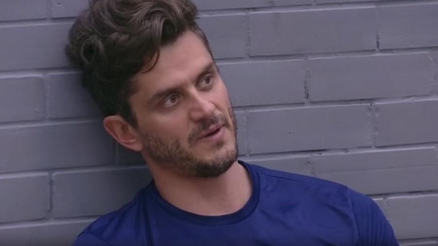 Marcos diz que brothers querem Emilly fora da casa - Reprodução/TV Globo