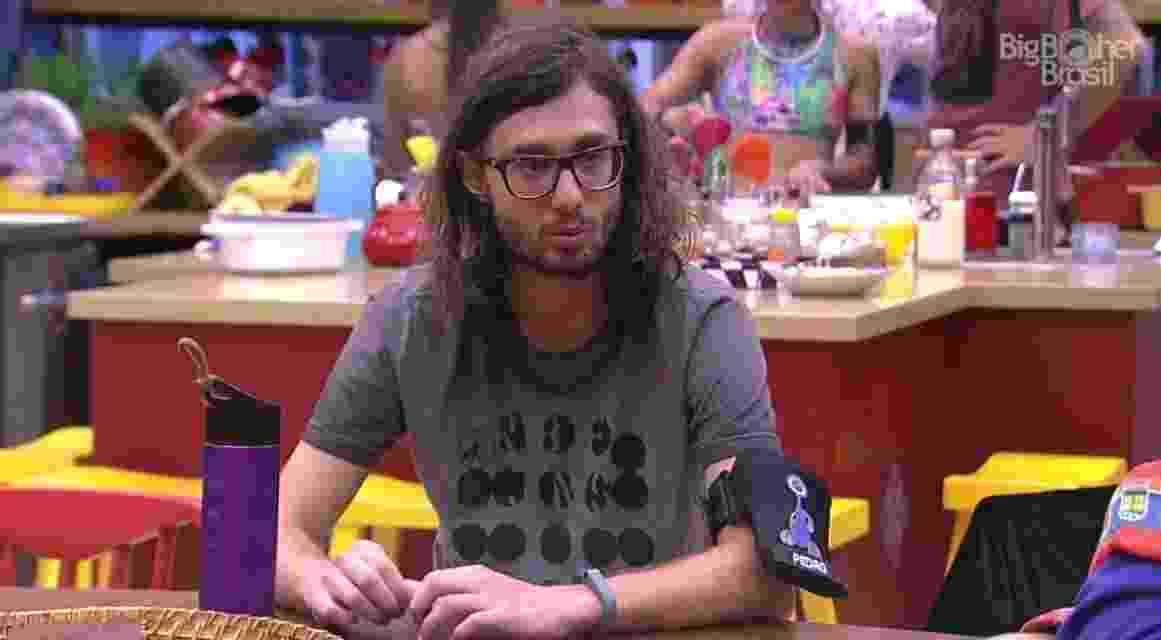 """08.02.2017 - Pedro, participante do """"BBB17"""" - Reprodução/Tv Globo"""