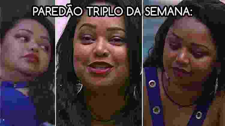 Diva paredao elis 11 - Reprodução/Globo e Arte/Diva Depressão - Reprodução/Globo e Arte/Diva Depressão