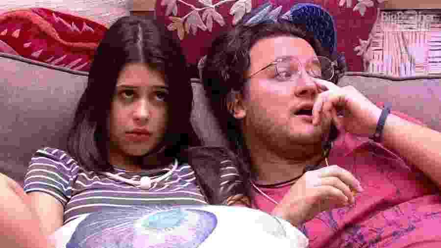 Ana Paula reclama com Diego após discutir com Lucas - Reprodução/Globoplay