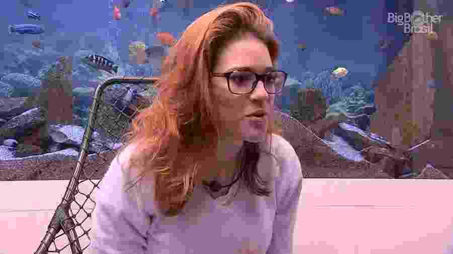 Ana Clara comemora a formação do paredão - Reprodução/GloboPlay