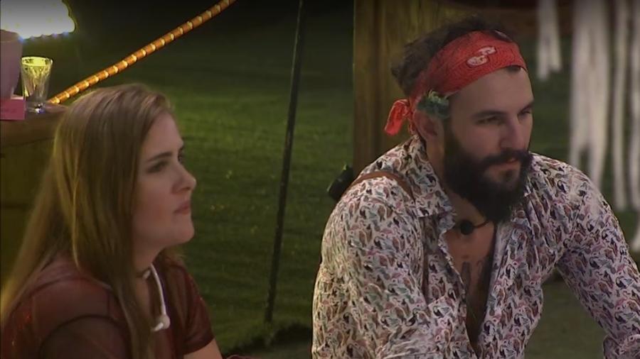 Patrícia comenta beijo entre Breno e Ana Clara  - Reprodução/Tv Globo
