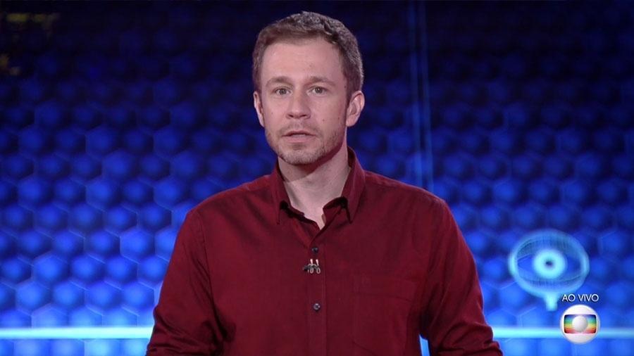 """Tiago Leifert analisa o jogo do """"BBB18"""" - Reprodução/TVGlobo"""