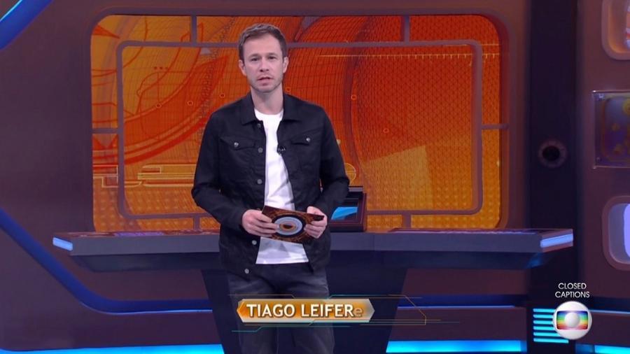 """Leifert anuncia data para o fim do """"BBB17"""" - Reprodução/TV Globo"""