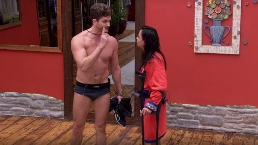 Marcos bate boca com Marinalva e diz estar buscando a verdade  - Reprodução/TVGlobo