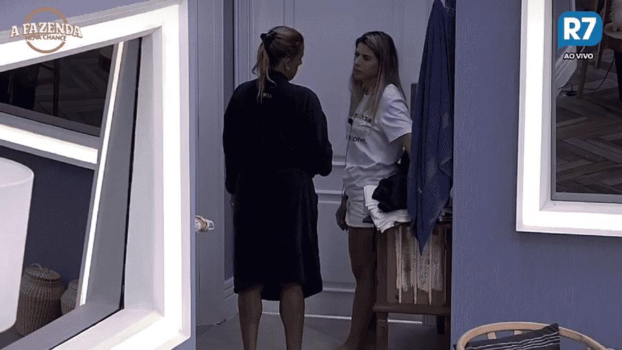 Rita diz que não deseja o mal de Ana Paula  - Reprodução/R7