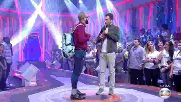 Leifert Mahmoud - Reprodução/TvGlobo - Reprodução/TvGlobo