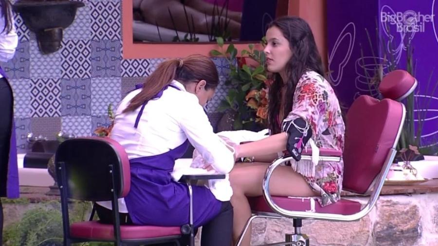 """Finalistas do """"BBB17"""" ganham dia de beleza - Reprodução/TV Globo"""