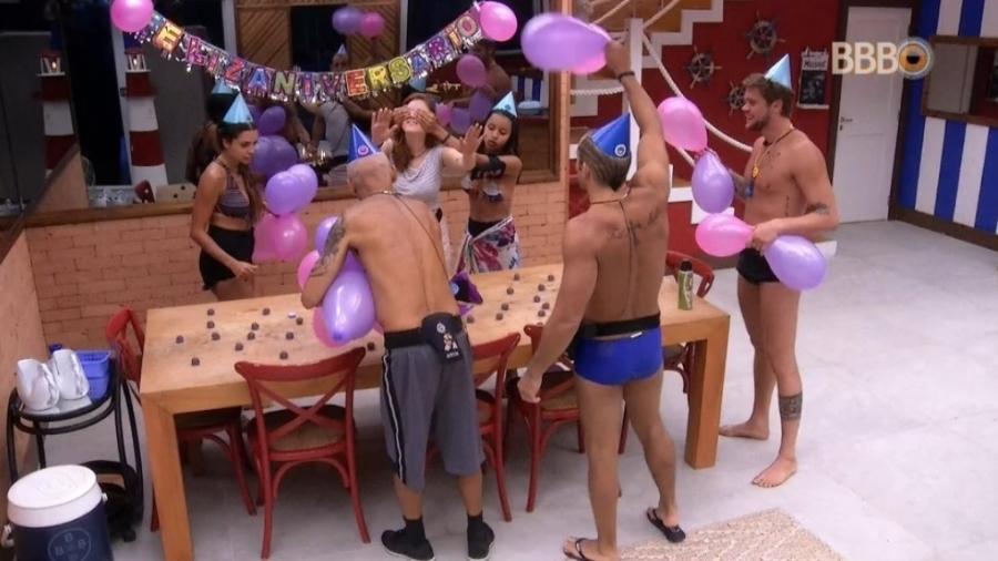 Brothers fazem festa para Ana Clara  - Reprodução/GlobosatPlay