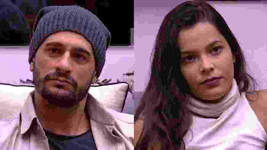 """Daniel e Emilly se enfrentam em nono paredão do """"BBB17"""" - Reprodução/TVGlobo"""