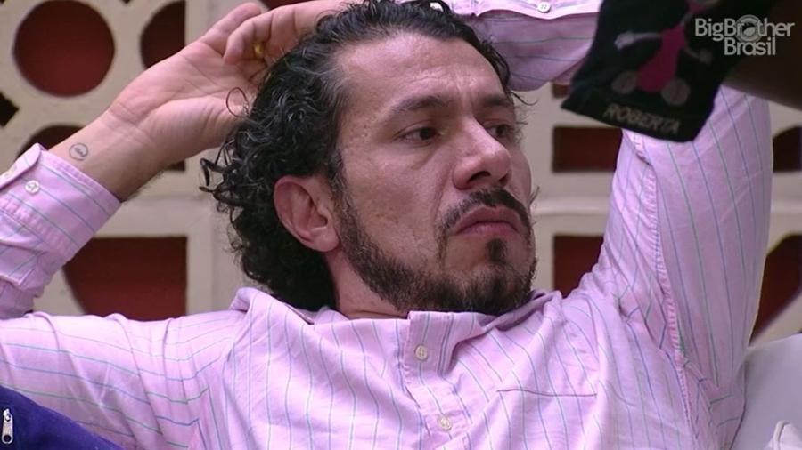 Rômulo fala sobre Emilly no paredão - Reprodução/TV Globo
