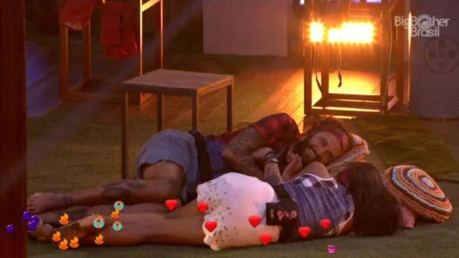 Gleici e Wagner trocam elogios na Festa Femineja - Reprodução/GloboPlay