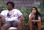 Munik e Ronan acreditavam que iriam para o paredão (Foto: Reprodução/TV Globo)