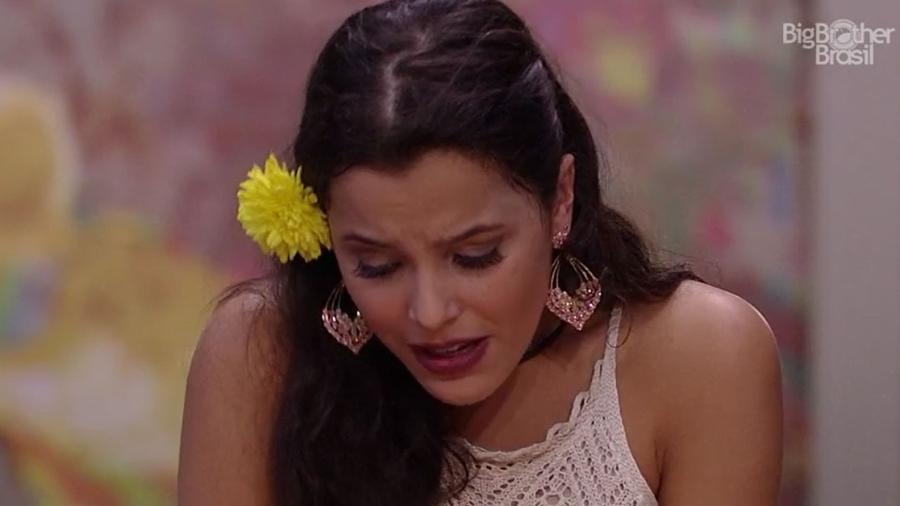 """Emilly acha que o público gosta dela no """"BBB17"""" - Reprodução/TV Globo"""