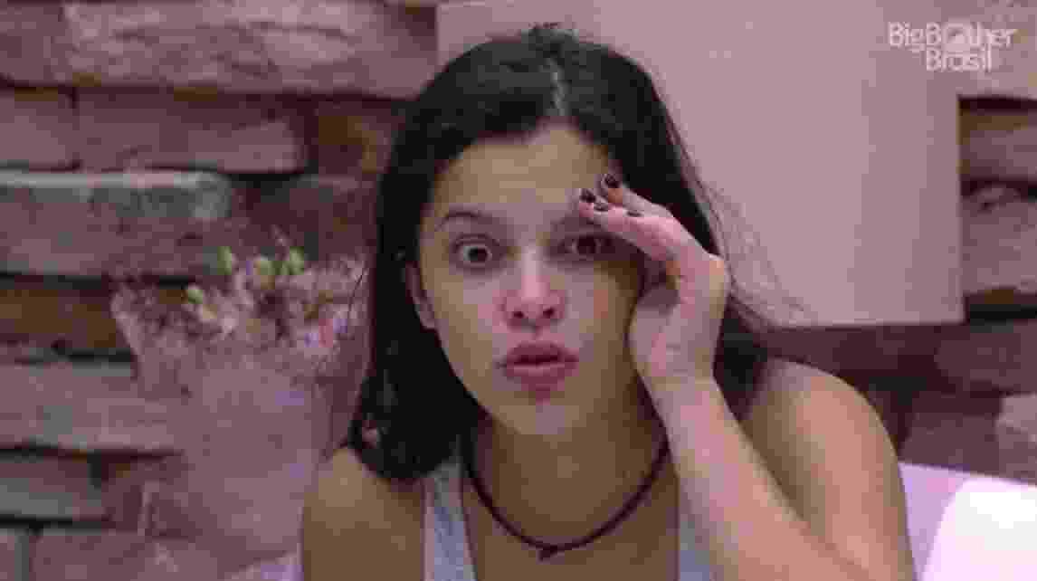 """Emilly sonhou estar possuída: """"Não era eu no meu corpo"""" - Reprodução/ TV Globo"""