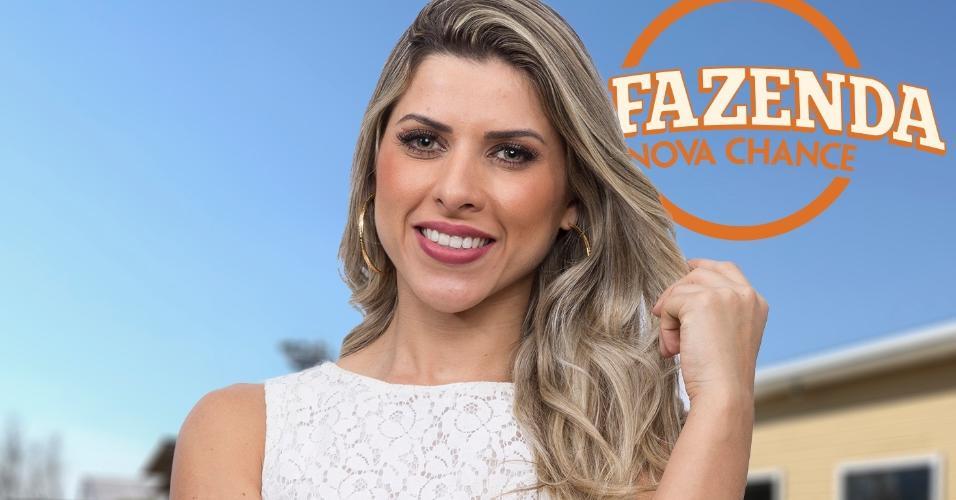 "Ana Paula Minerato, participante de ""A Fazenda 9"""