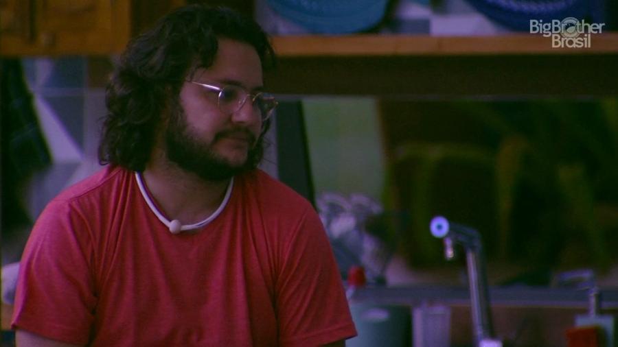 Diego fala de seus relacionamentos amorosos fora da casa - Reprodução/TvGlobo