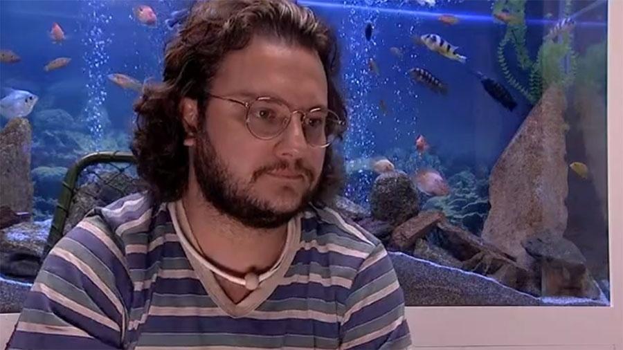 """Diego no confessionário do """"BBB18"""" - Reprodução/GloboPlay"""