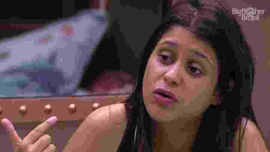 Ana Paula declara voto em Mahmoud e tenta convencer os demais brothers - Reprodução/GloboPlay