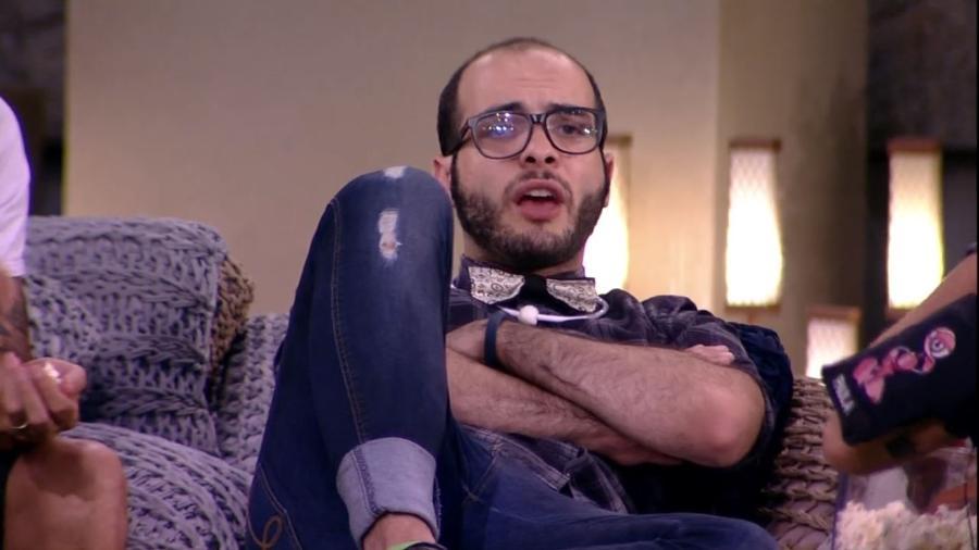 Mahmoud promete vingança se voltar do paredão - Reprodução/Gshow