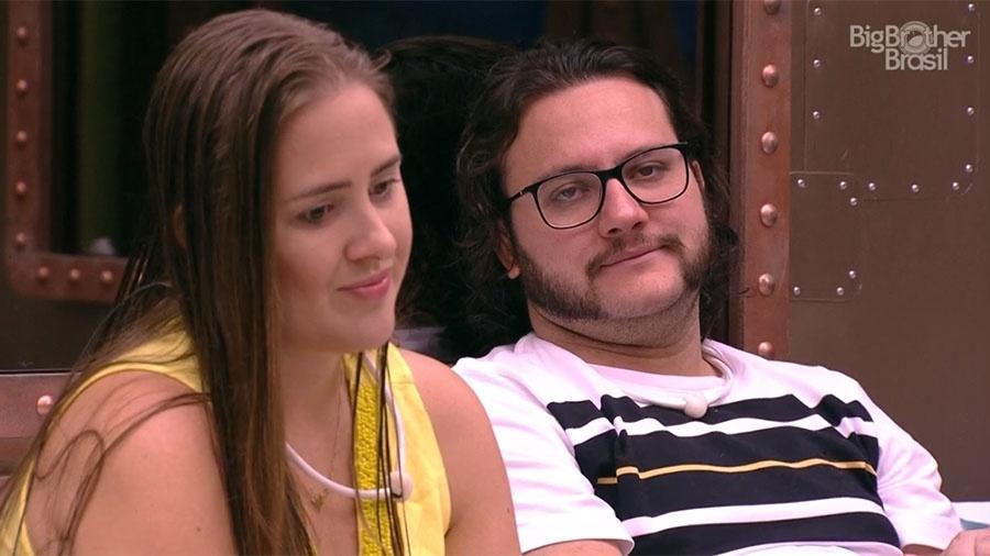 """Diego conversa sobre o jogo no """"BBB18"""" - Reprodução/GloboPlay"""