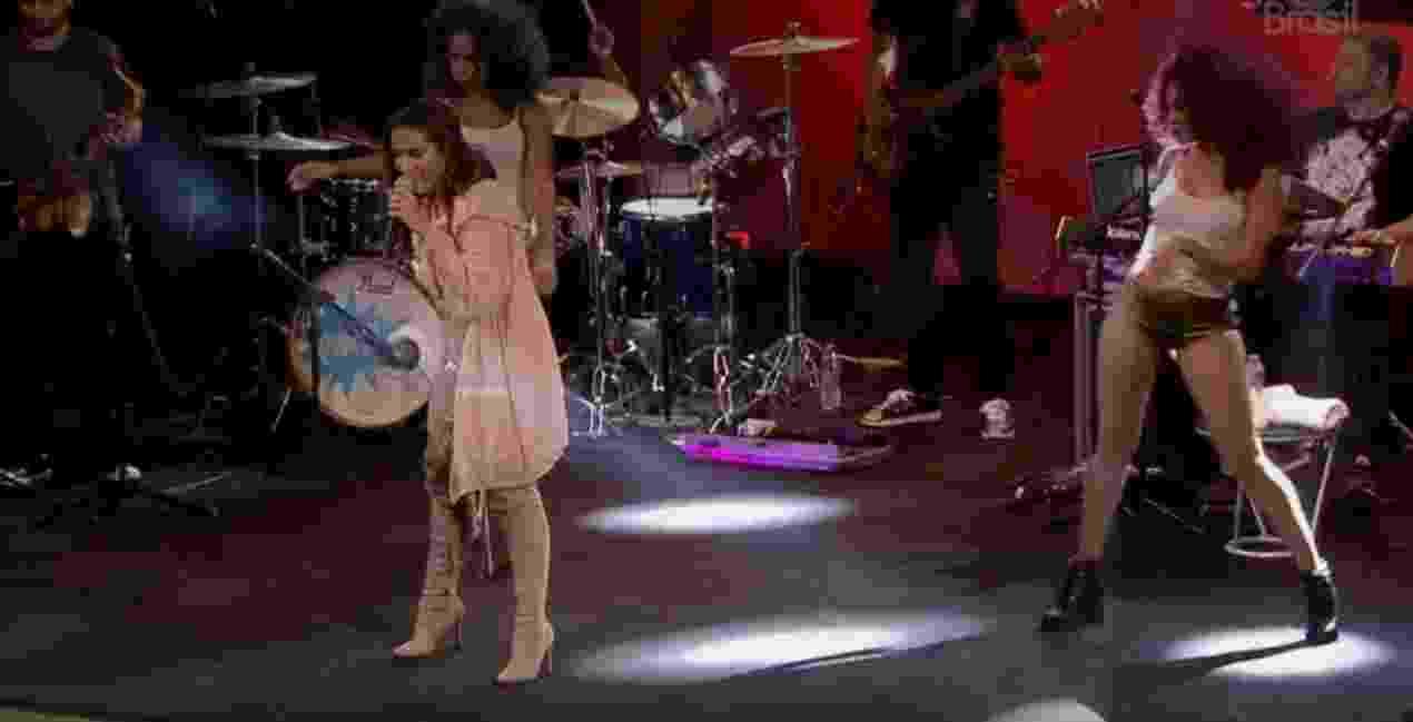 "Anitta agita festa do ""BBB17"" - Reprodução/TV Globo"