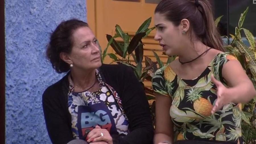 Vivian explica a Ieda provocação de Marcos - Reprodução/TVGlobo