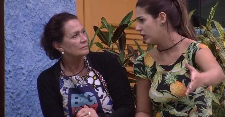 Vivian explica a Ieda provocação de Marcos