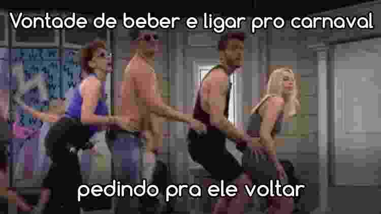 Diva papelão 7 - Reprodução/Globo e Arte/Diva Depressão - Reprodução/Globo e Arte/Diva Depressão