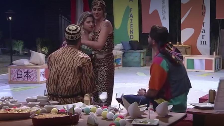 Aritana fala sobre beijo lésbico e afirma que nunca beijou uma mulher - Reprodução/R7