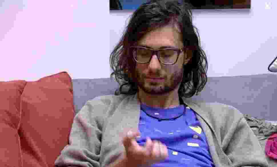 Pedro reclama de despertador da casa - Reprodução/TVGlobo