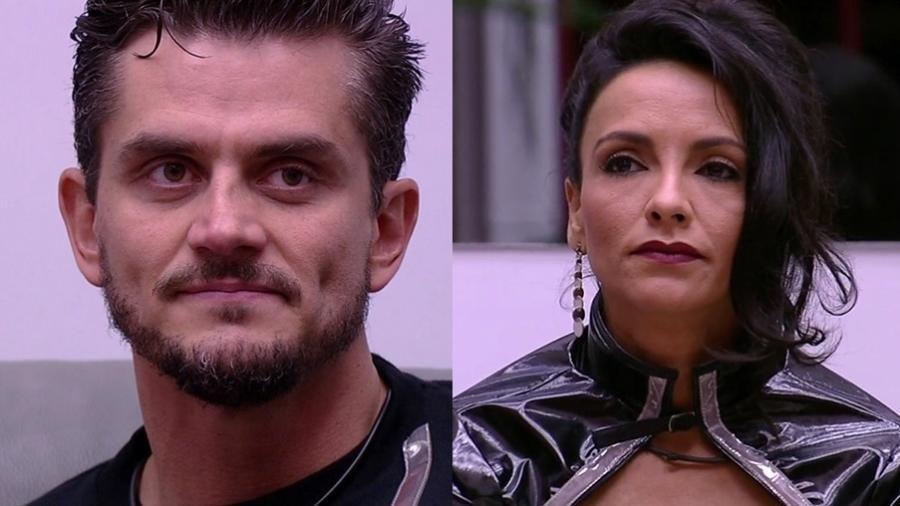 """Marcos e Marinalva disputam 11º paredão do """"BBB17"""" - Reprodução/TVGlobo"""