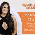 """Ana Paula, participante do """"BBB18"""" - Reprodução/Gshow"""