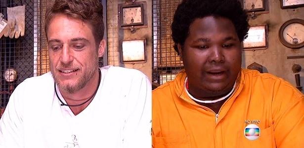 """Daniel e Ronan estão no terceiro paredão do """"BBB16"""" - Reprodução/ TV Globo"""