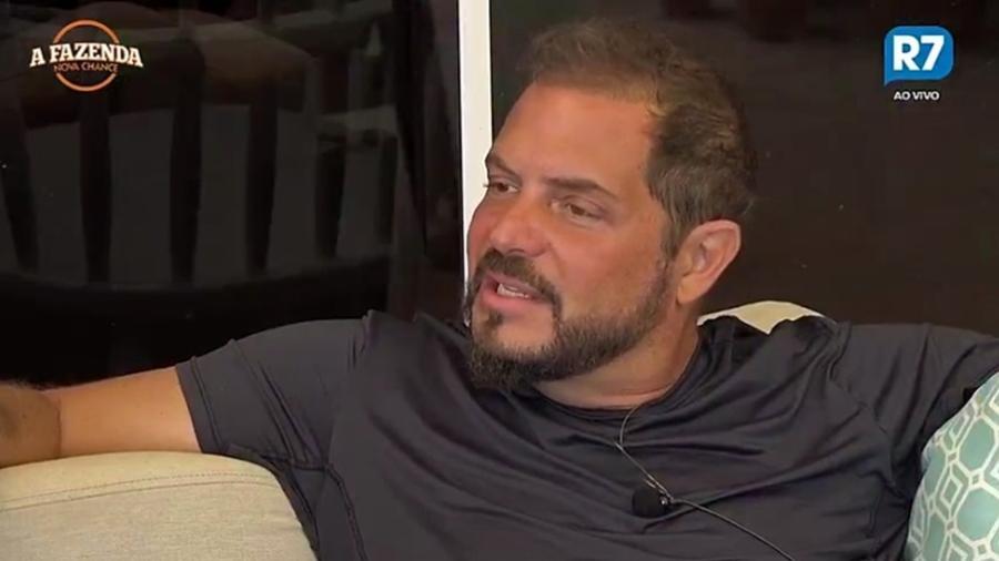 """Conrado acusa Marcos Harter de fazer um jogo sujo em """"A Fazenda 9"""" - Reprodução/R7"""